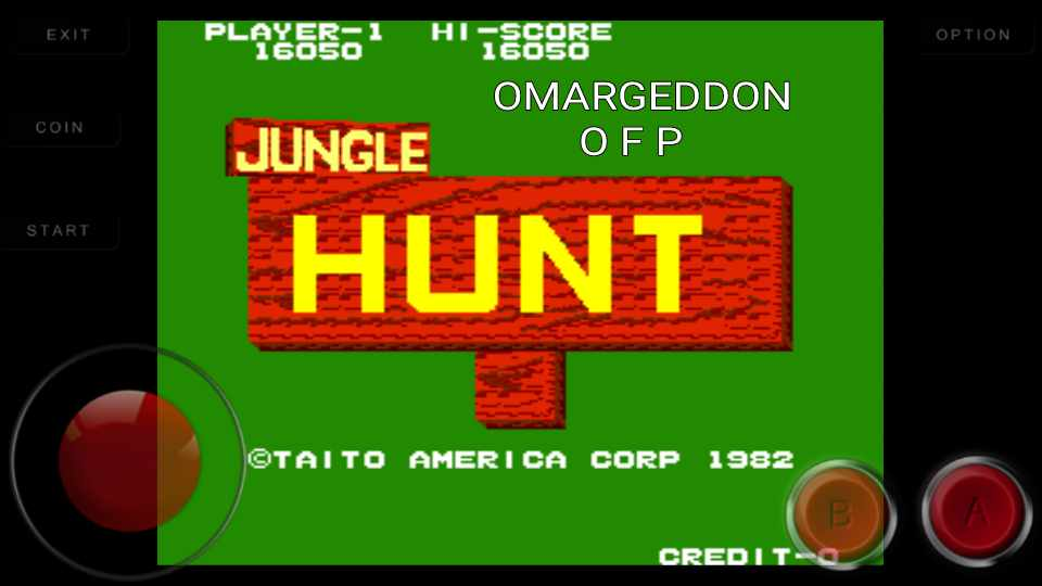 Jungle Hunt 16,050 points