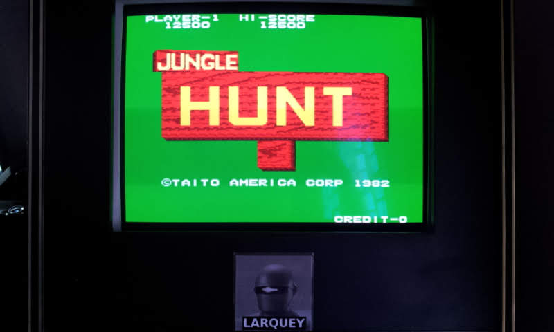 Larquey: Jungle Hunt (Arcade Emulated / M.A.M.E.) 12,500 points on 2018-05-20 12:21:00