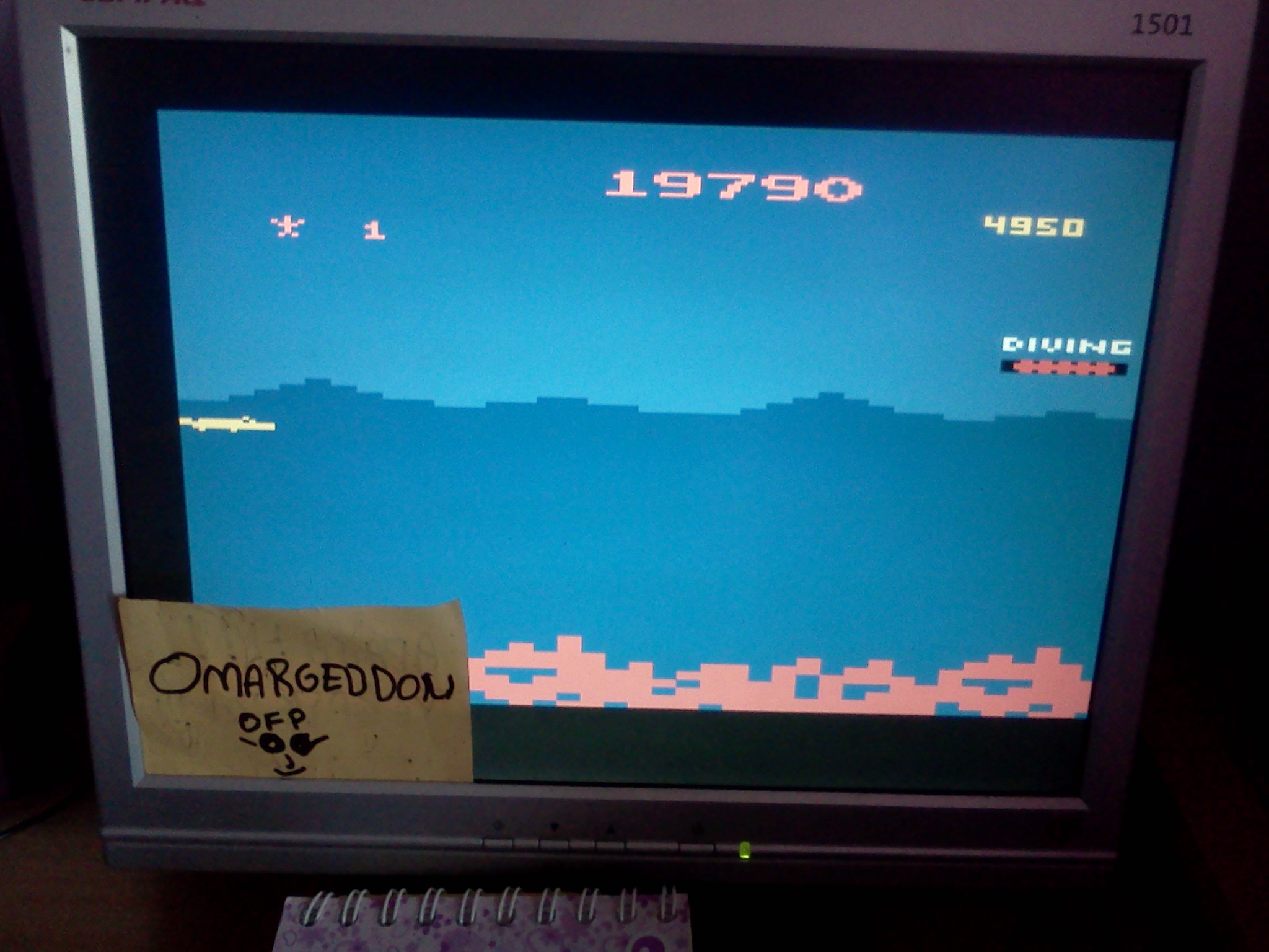 omargeddon: Jungle Hunt (Atari 2600 Emulated) 19,790 points on 2016-07-24 11:39:44