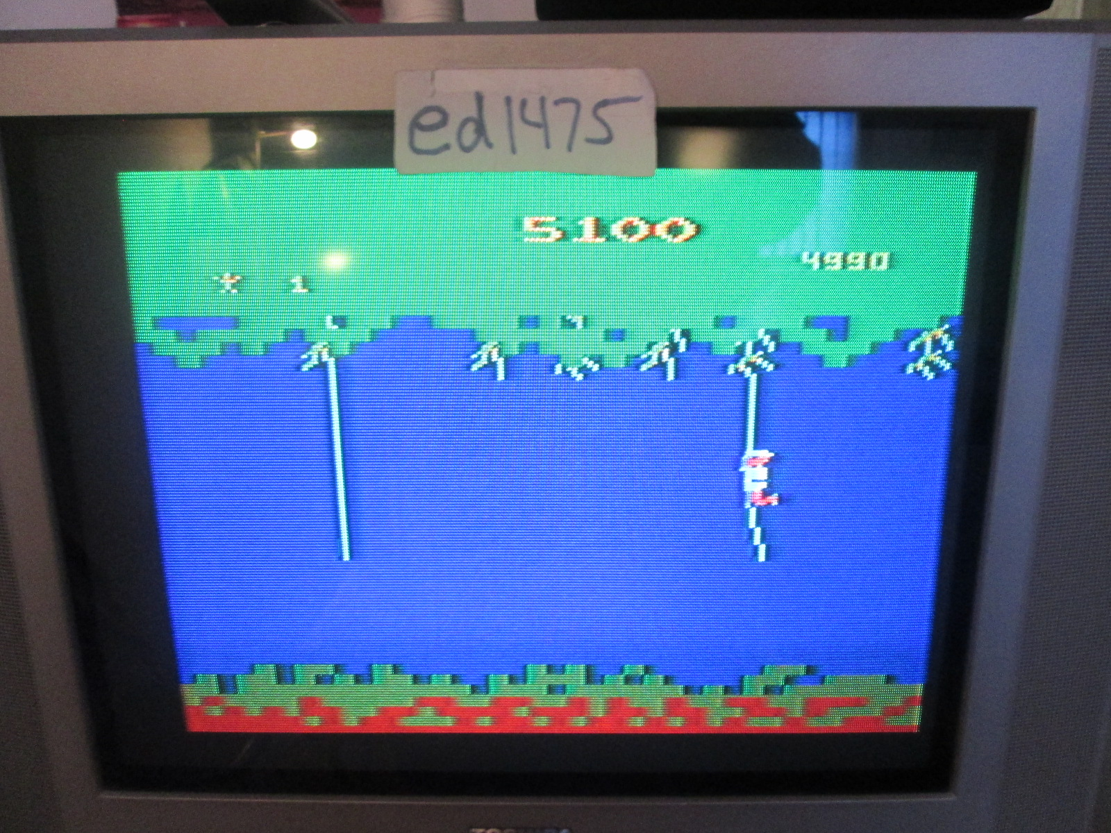 ed1475: Jungle Hunt (Atari 2600) 5,100 points on 2016-09-29 17:49:14