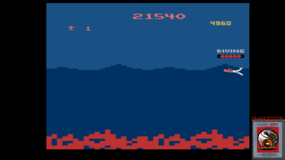 omargeddon: Jungle Hunt (Atari 2600 Emulated) 21,540 points on 2017-03-07 23:48:39