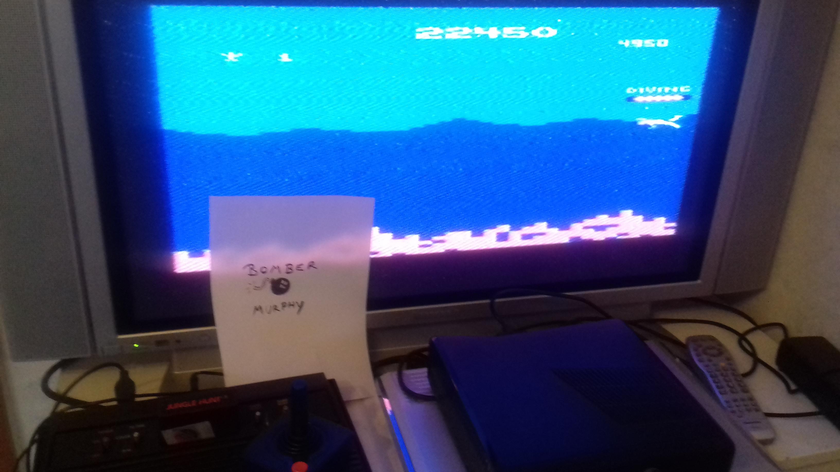 BomberMurphy: Jungle Hunt (Atari 2600) 22,450 points on 2018-03-06 10:54:41