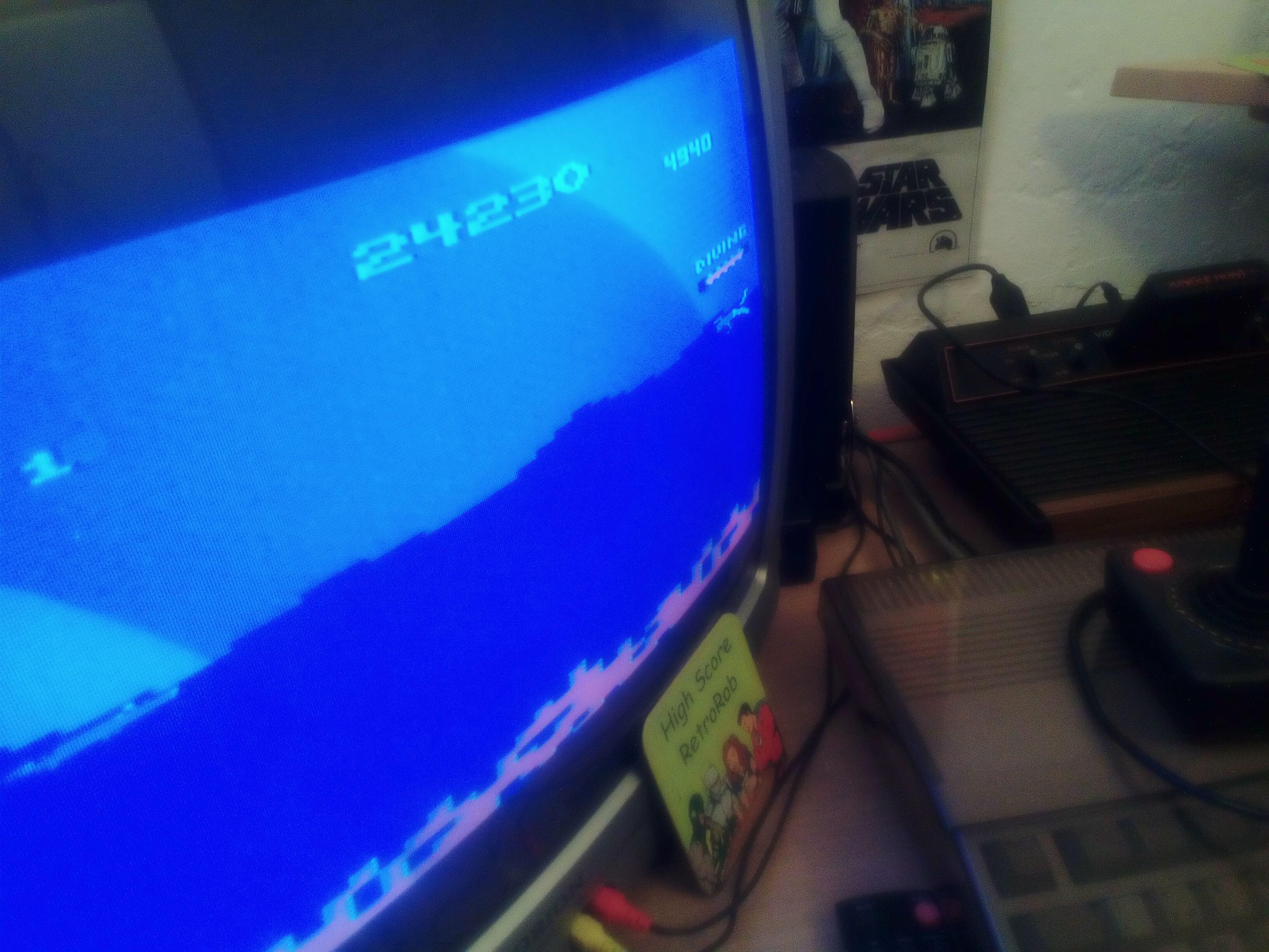 RetroRob: Jungle Hunt (Atari 2600) 24,230 points on 2018-05-05 08:00:44