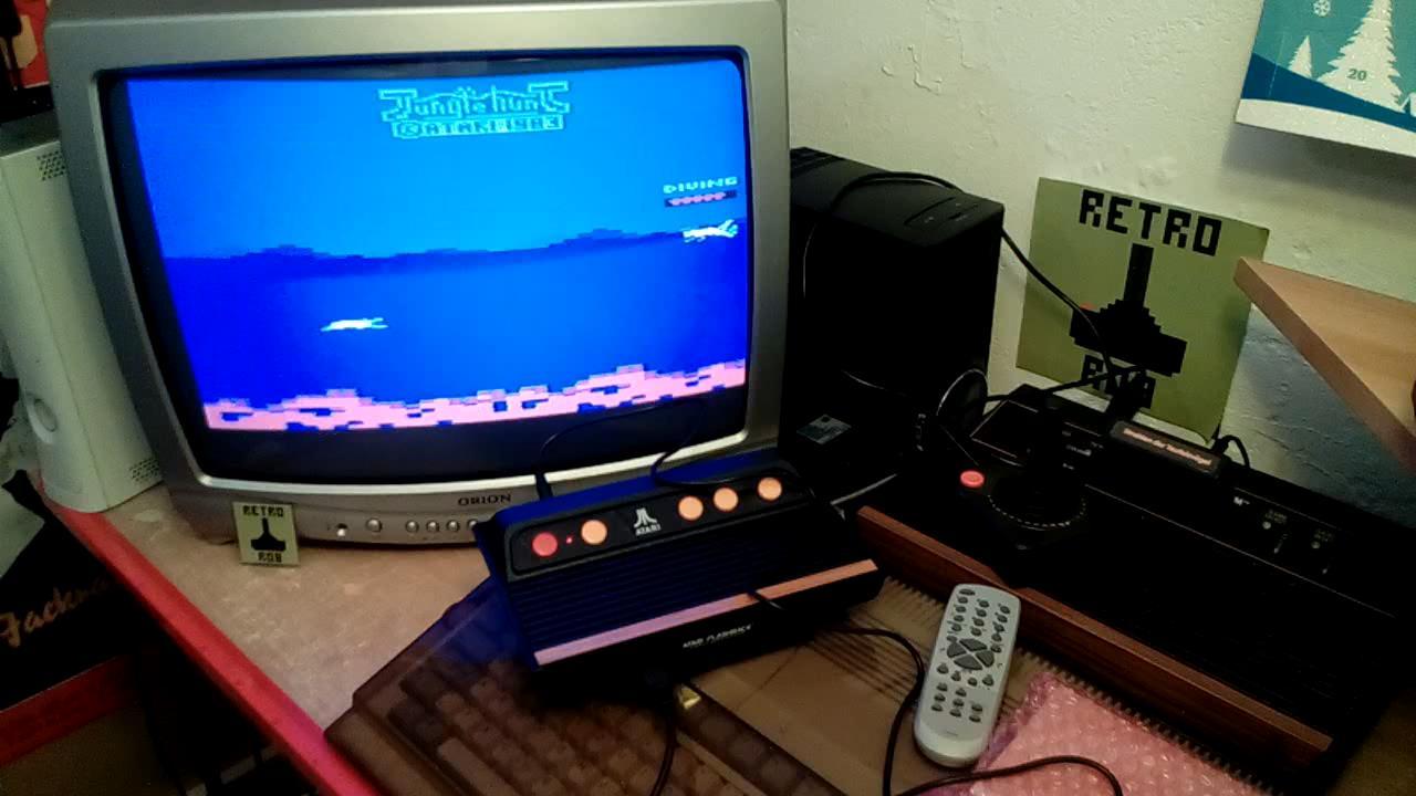RetroRob: Jungle Hunt (Atari 2600 Emulated) 19,510 points on 2019-09-02 14:44:57