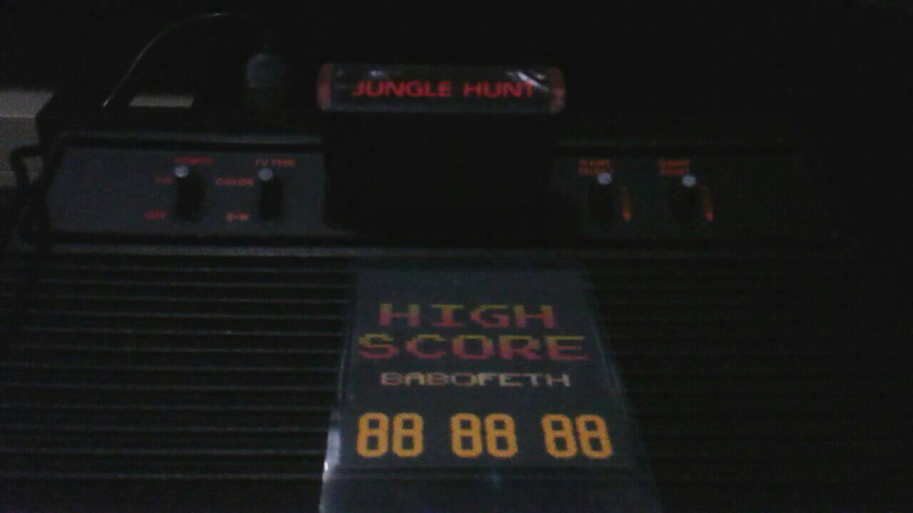 BabofetH: Jungle Hunt (Atari 2600) 26,830 points on 2020-07-17 19:17:35
