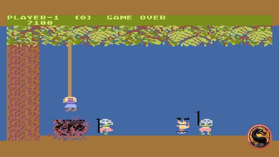 omargeddon: Jungle Hunt [Beginner] (Atari 400/800/XL/XE Emulated) 7,100 points on 2019-02-13 23:13:06