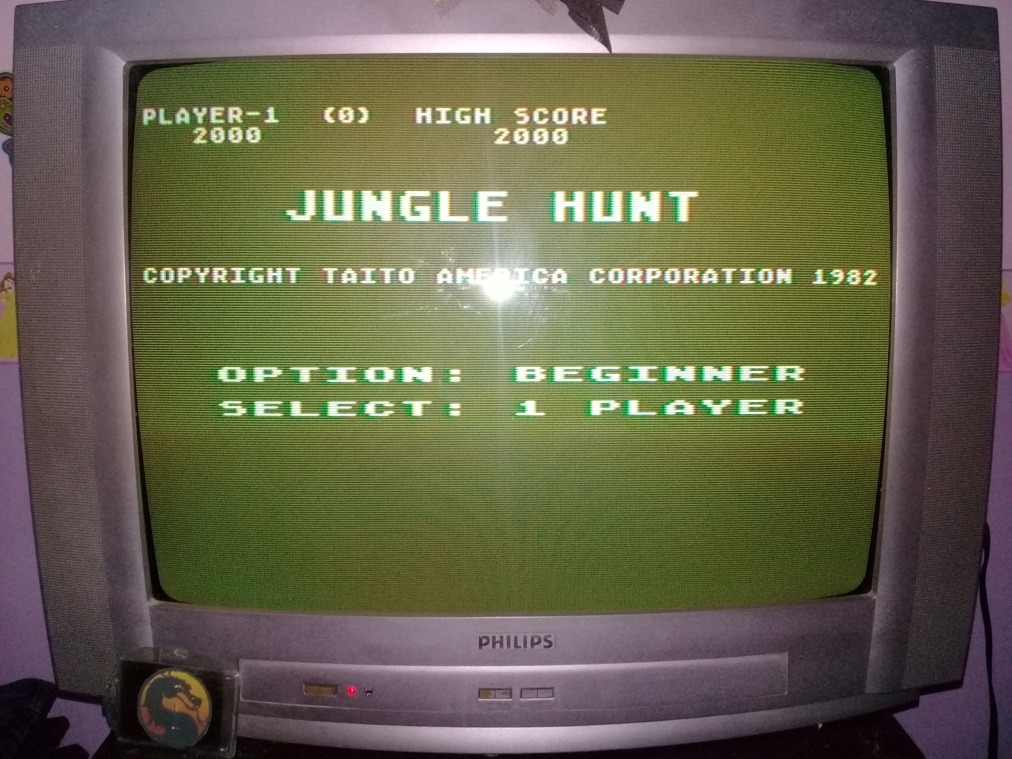 omargeddon: Jungle Hunt [Beginner] (Atari 400/800/XL/XE) 2,000 points on 2020-03-10 21:20:16