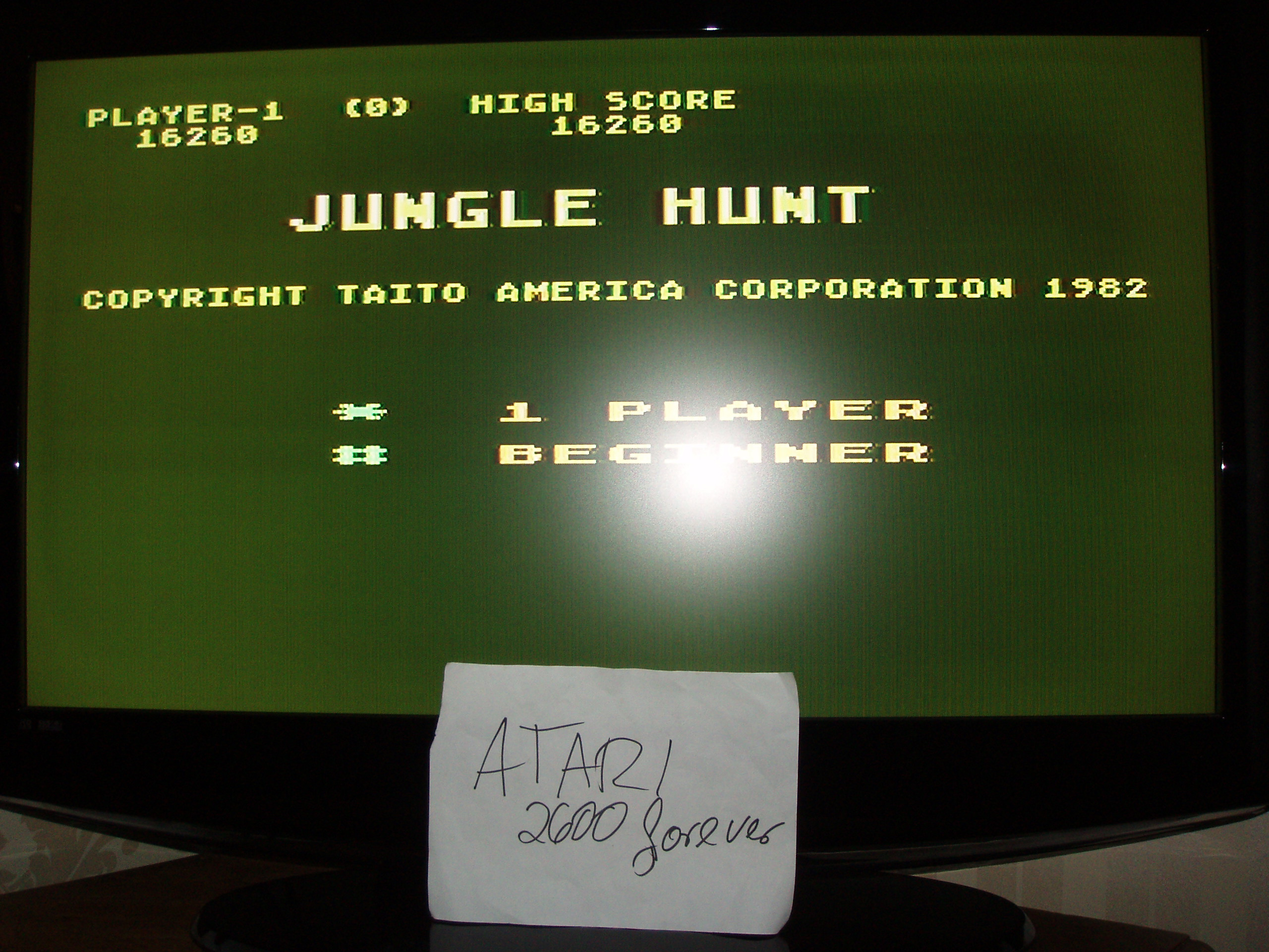 atari2600forever: Jungle Hunt: Beginner (Atari 5200) 16,260 points on 2018-03-29 03:22:56