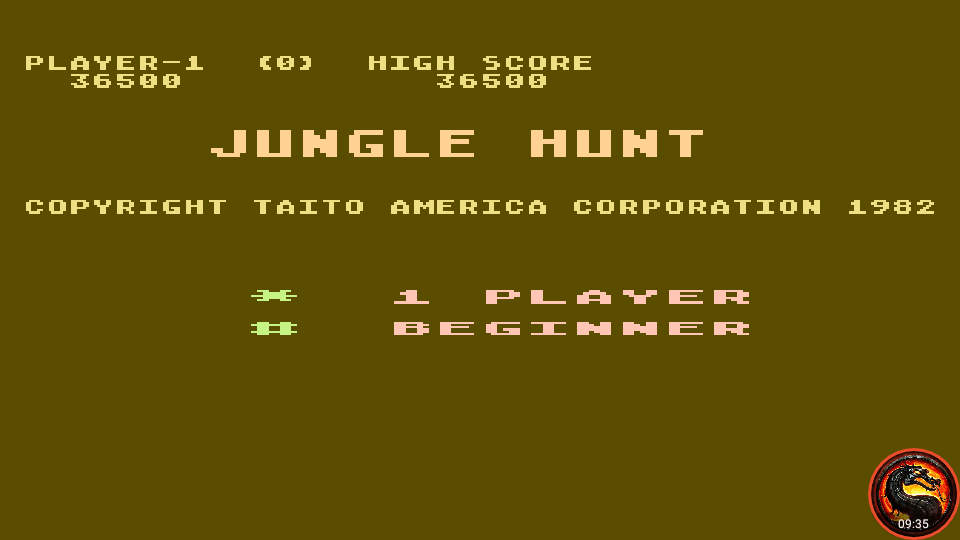 omargeddon: Jungle Hunt: Beginner (Atari 5200 Emulated) 36,500 points on 2020-03-31 23:47:50