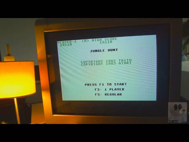GTibel: Jungle Hunt (Commodore 64) 19,110 points on 2019-03-23 09:12:25