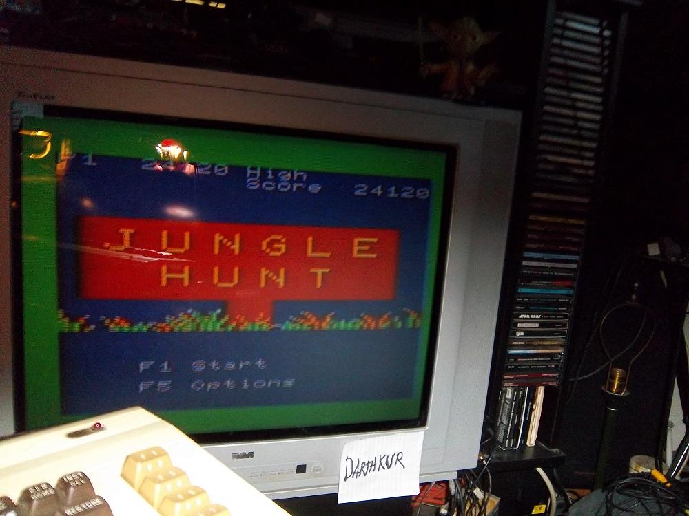 darthkur: Jungle Hunt (Commodore VIC-20) 24,120 points on 2016-04-18 18:07:49