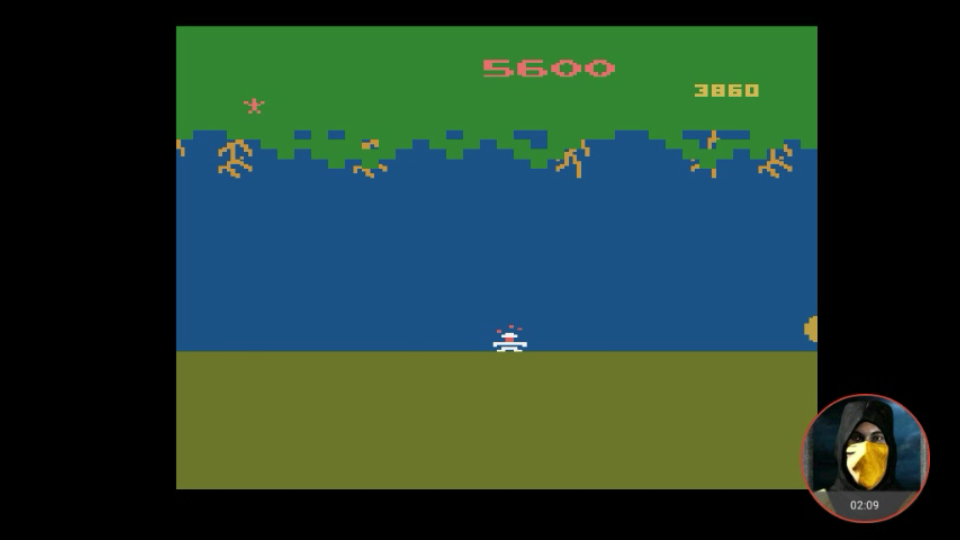 omargeddon: Jungle Hunt: Game 2 (Atari 2600 Emulated) 5,600 points on 2018-02-15 15:44:58