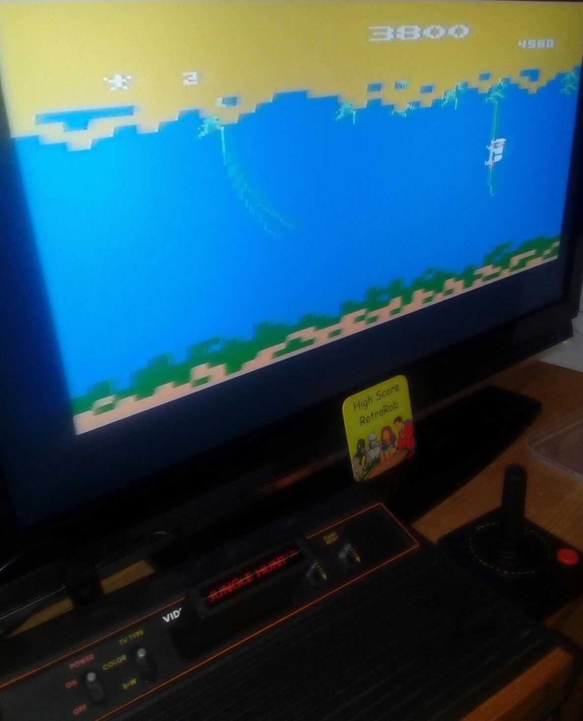 RetroRob: Jungle Hunt: Game 2 (Atari 2600) 3,800 points on 2018-02-27 15:42:38