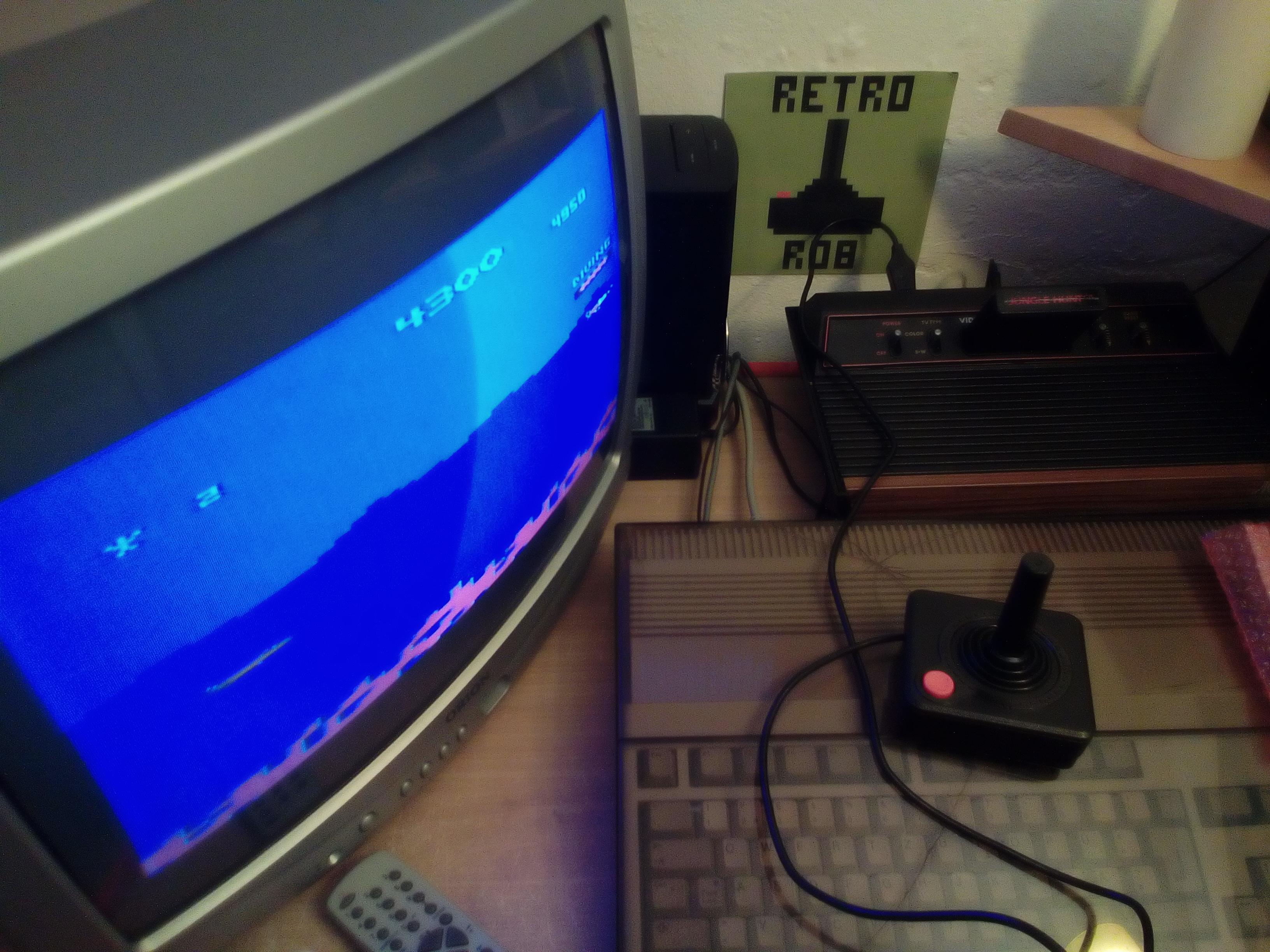 RetroRob: Jungle Hunt: Game 2 (Atari 2600) 4,300 points on 2019-02-17 11:27:38