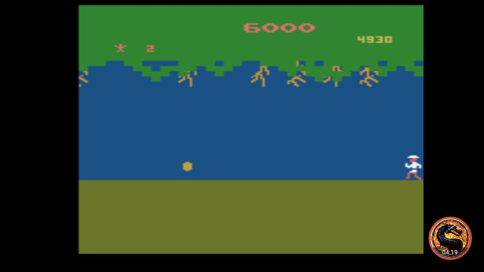 omargeddon: Jungle Hunt: Game 2 (Atari 2600 Emulated) 6,000 points on 2019-03-15 10:16:14