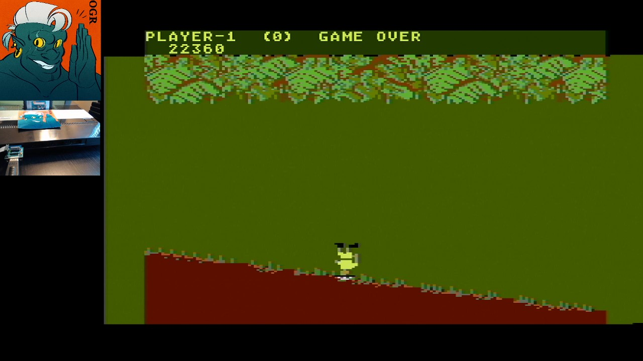 AwesomeOgre: Jungle Hunt: Medium (Atari 5200) 22,360 points on 2020-04-19 19:04:57