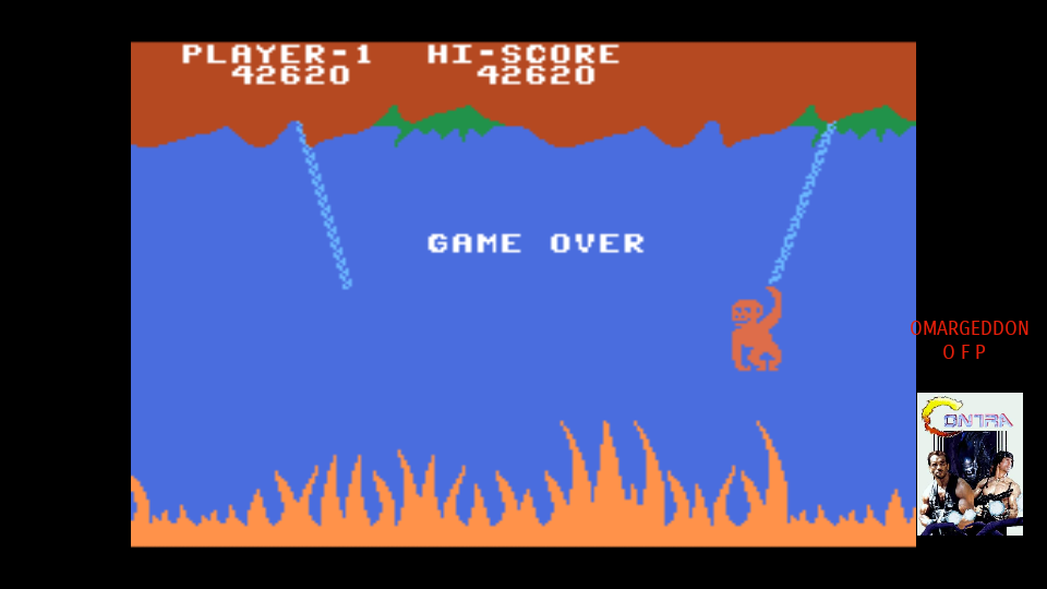 omargeddon: Jungle Hunt [Medium] (MSX Emulated) 42,620 points on 2017-10-19 09:48:45