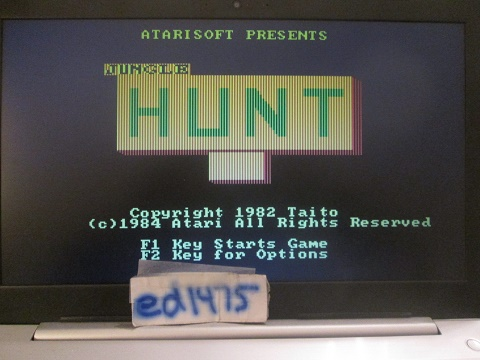 ed1475: Jungle Hunt (PC Emulated / DOSBox) 2,700 points on 2018-12-17 19:15:10