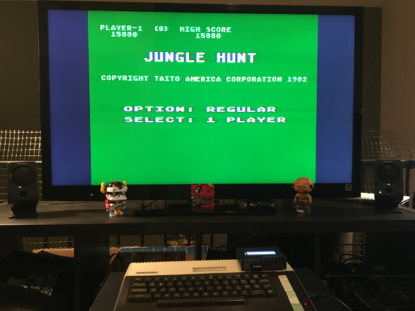 ILLSeaBass: Jungle Hunt [Regular] (Atari 400/800/XL/XE) 15,880 points on 2018-01-23 21:53:47