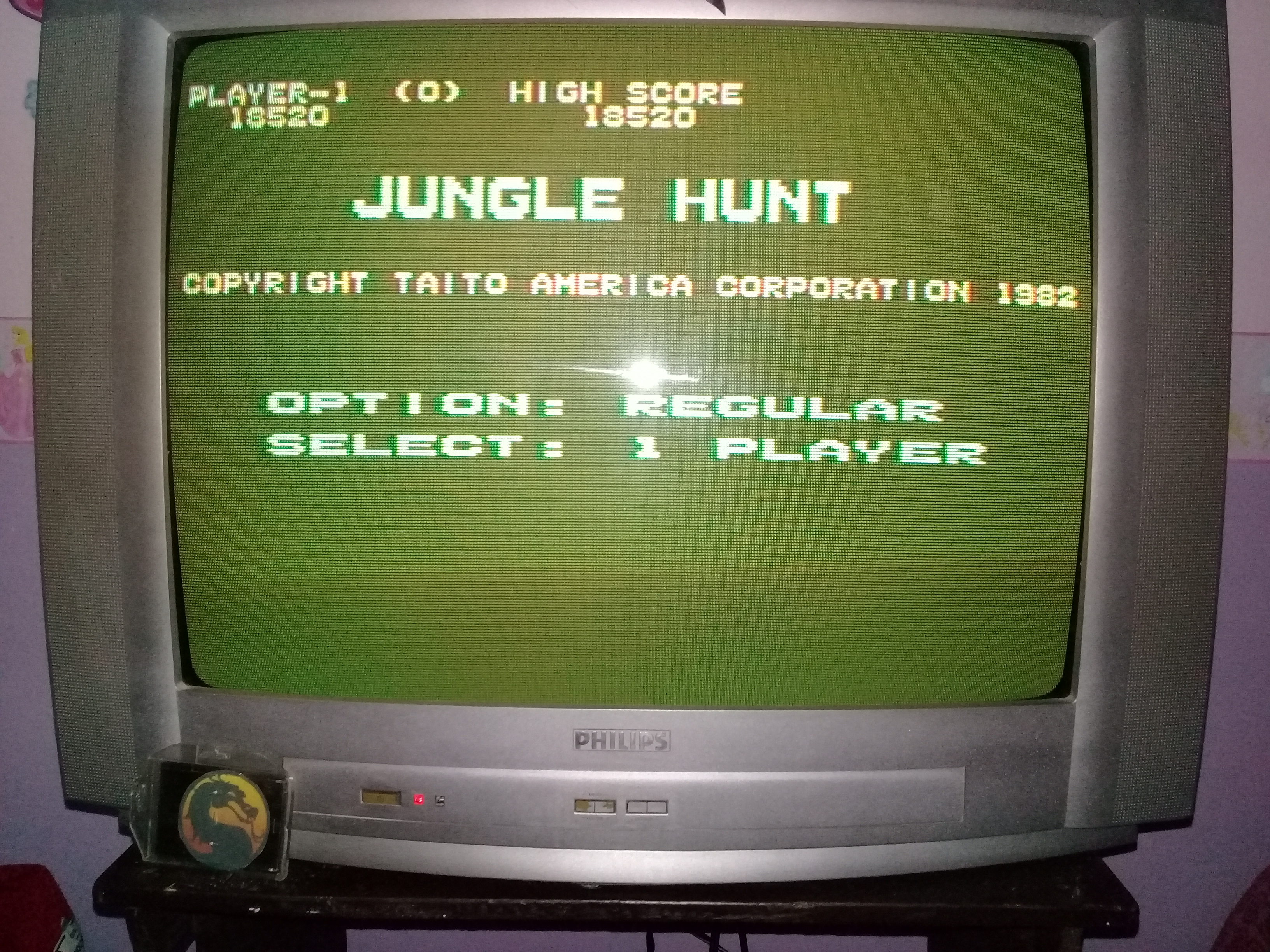 omargeddon: Jungle Hunt [Regular] (Atari 400/800/XL/XE) 18,520 points on 2020-03-05 01:01:31