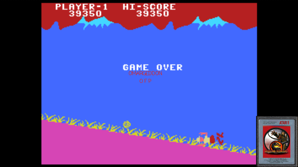 omargeddon: Jungle Hunt: Skill 1 (Colecovision Emulated) 39,350 points on 2017-01-24 23:50:03