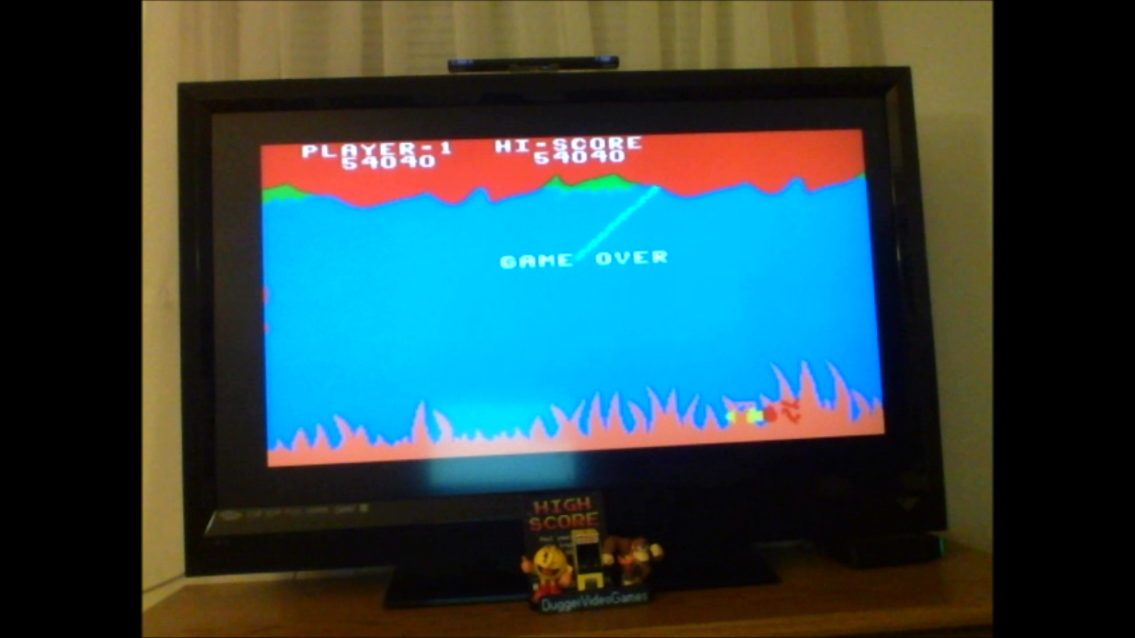 DuggerVideoGames: Jungle Hunt: Skill 1 (Colecovision Emulated) 54,040 points on 2017-02-10 00:05:33