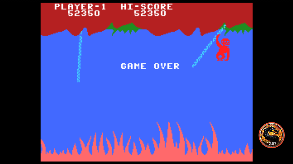 omargeddon: Jungle Hunt: Skill 1 (Colecovision Emulated) 52,350 points on 2019-02-08 12:40:11