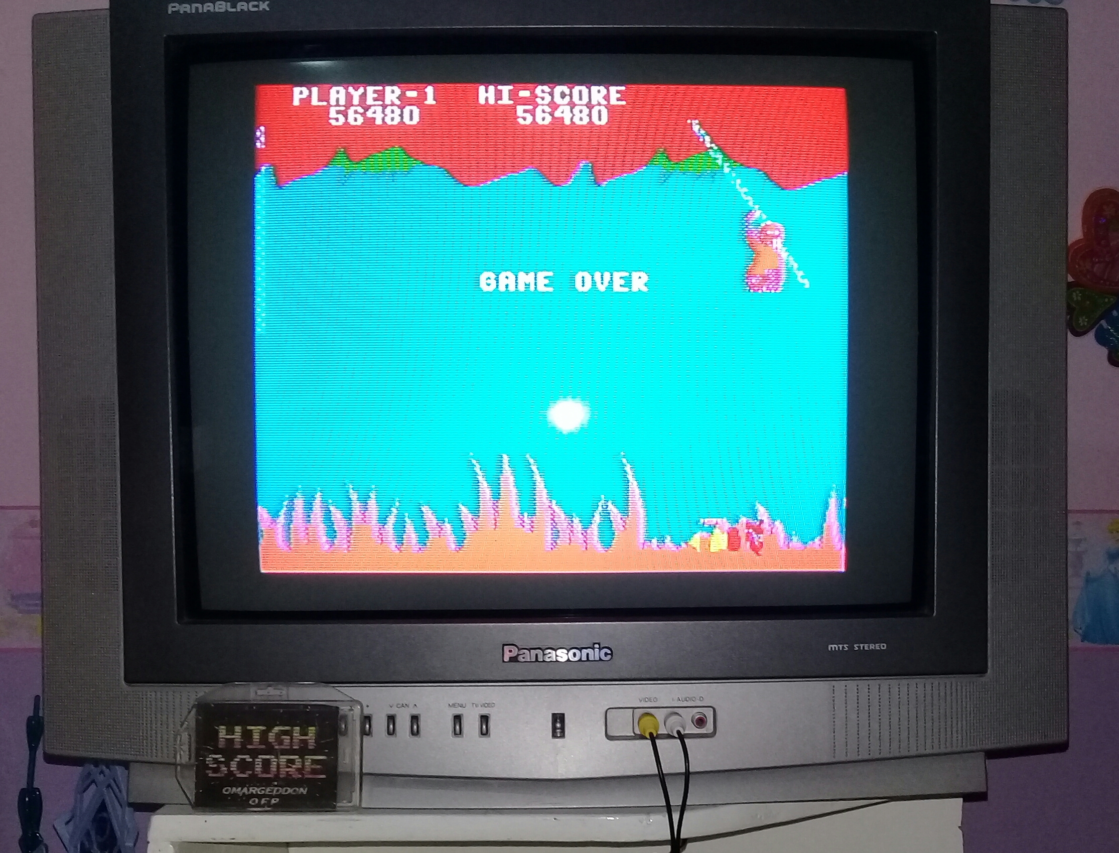 omargeddon: Jungle Hunt: Skill 1 (Colecovision Emulated) 56,480 points on 2019-06-04 17:03:43