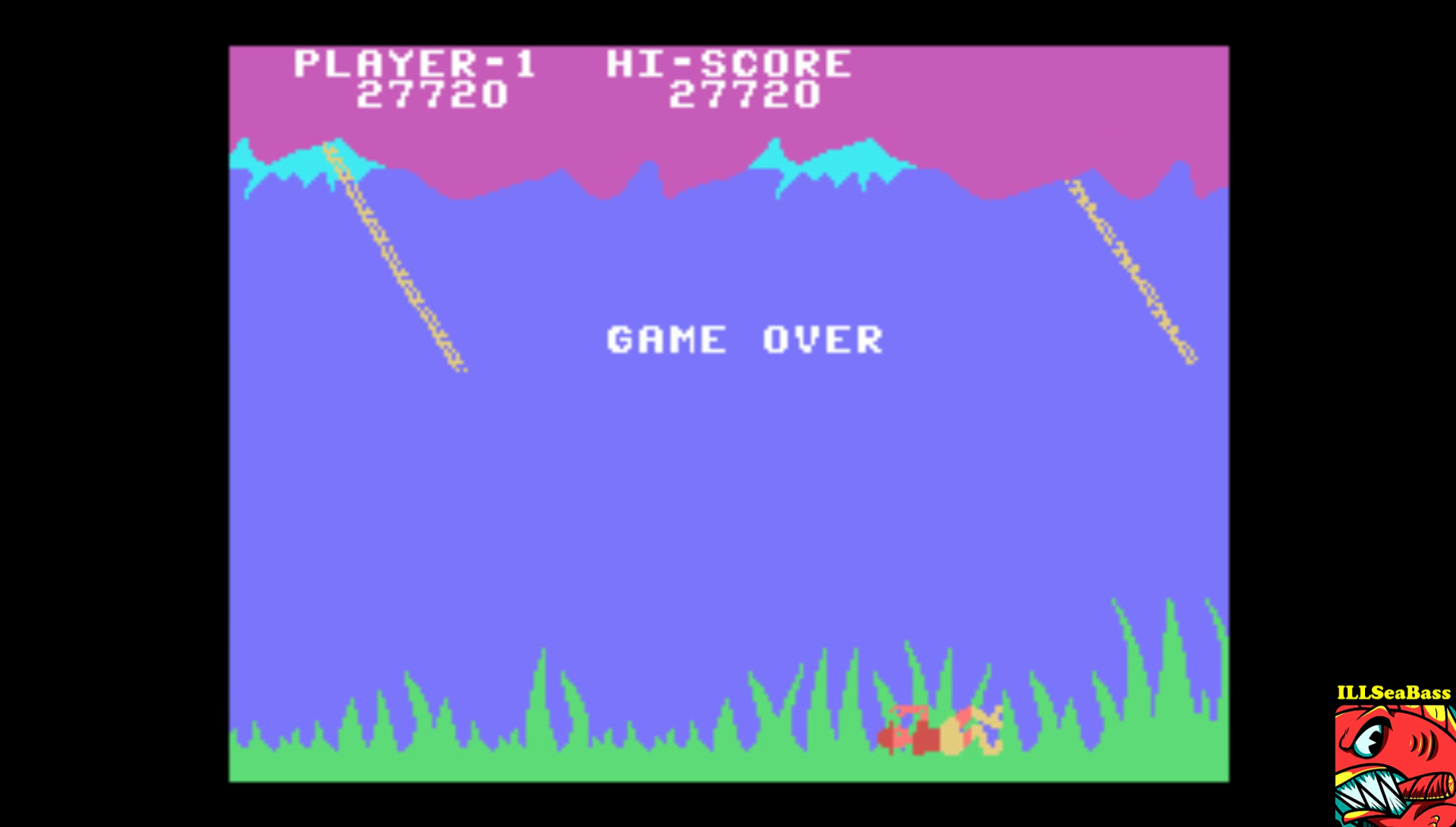 ILLSeaBass: Jungle Hunt: Skill 2 (Colecovision Emulated) 27,720 points on 2017-01-22 22:00:31