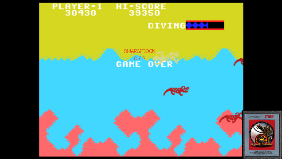 omargeddon: Jungle Hunt: Skill 2 (Colecovision Emulated) 30,430 points on 2017-02-22 01:52:25