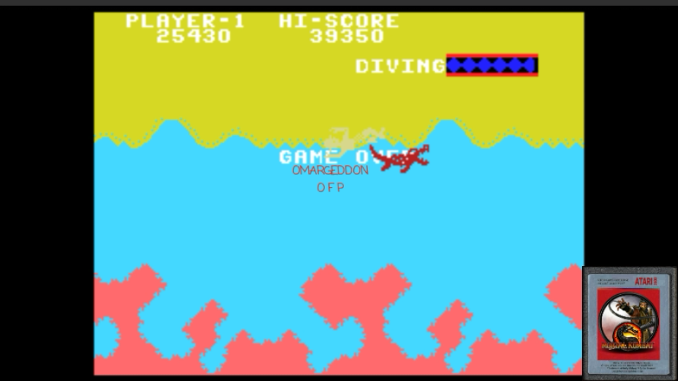 omargeddon: Jungle Hunt: Skill 3 (Colecovision Emulated) 25,430 points on 2017-01-25 00:23:37