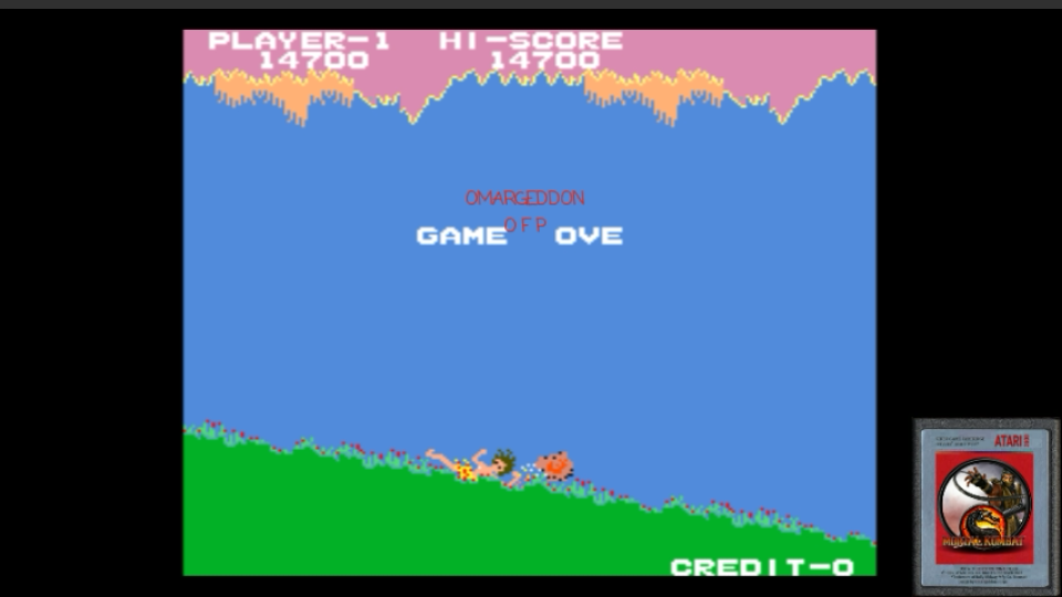 omargeddon: Jungle King (Arcade Emulated / M.A.M.E.) 14,700 points on 2017-02-24 13:25:18