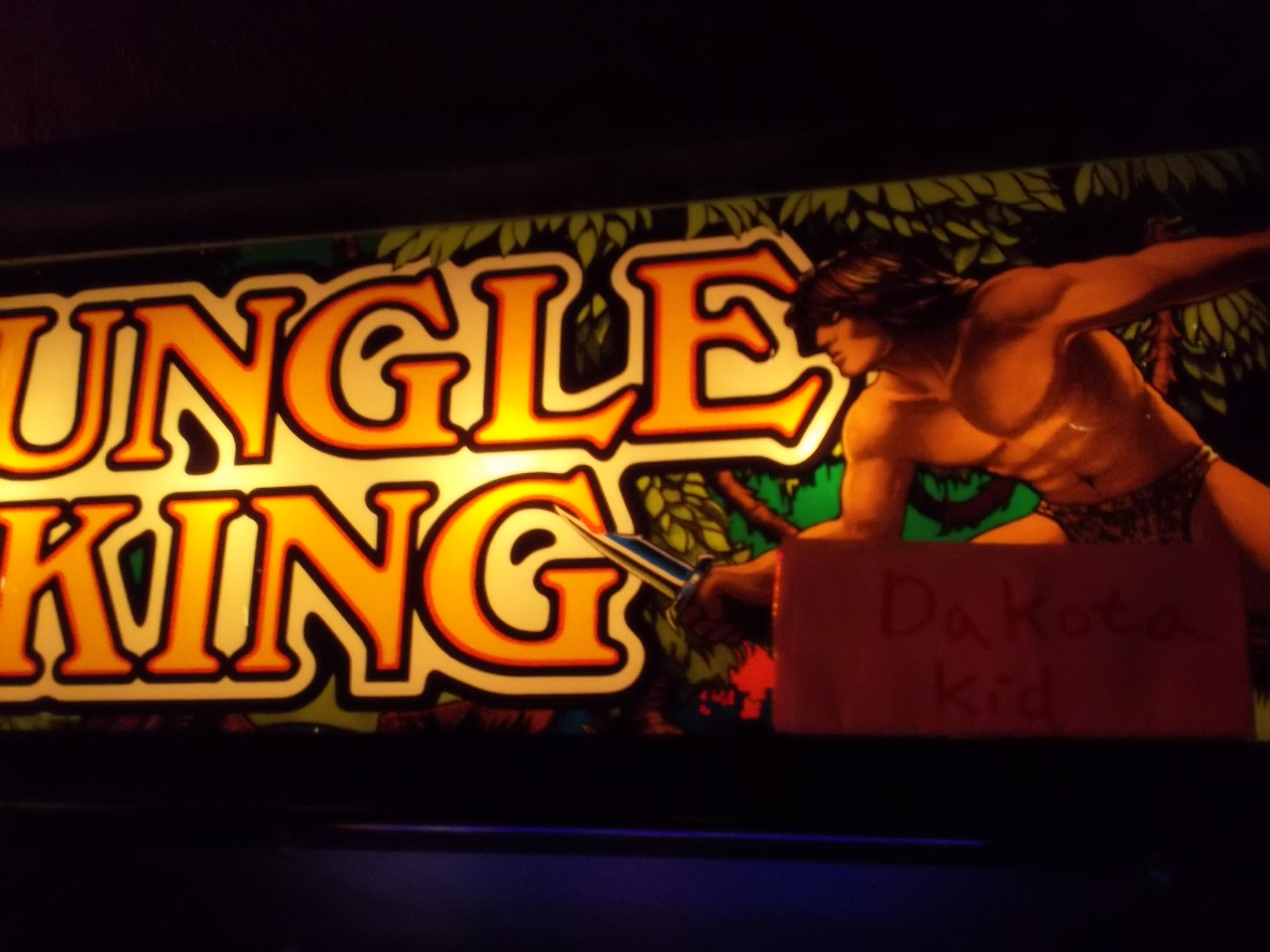 DakotaKid: Jungle King (Arcade) 7,600 points on 2017-01-19 14:37:09