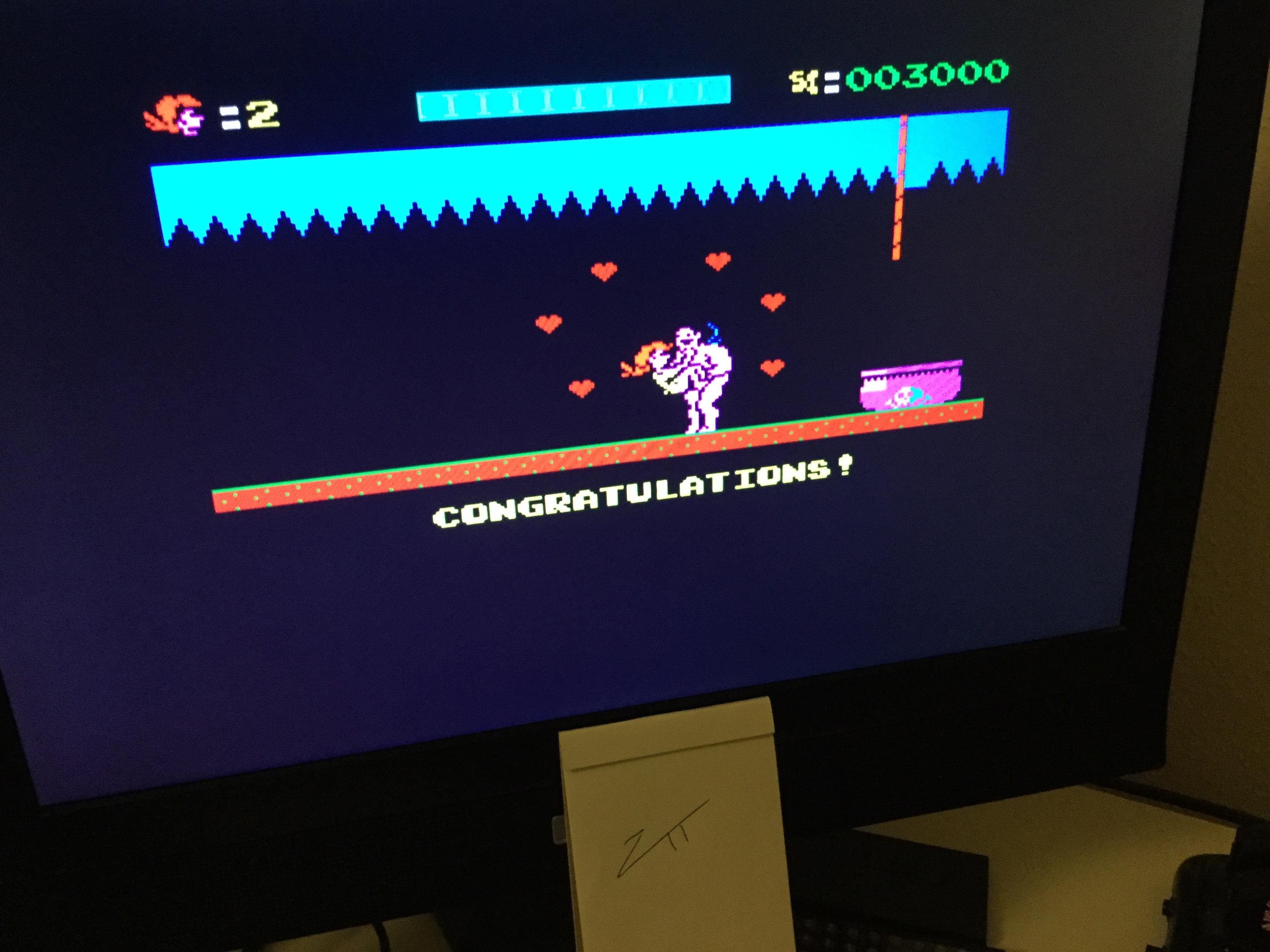 Frankie: Jungle Queen [2,000 Points Completion Bonus] (ZX Spectrum) 5,000 points on 2021-04-11 04:48:58