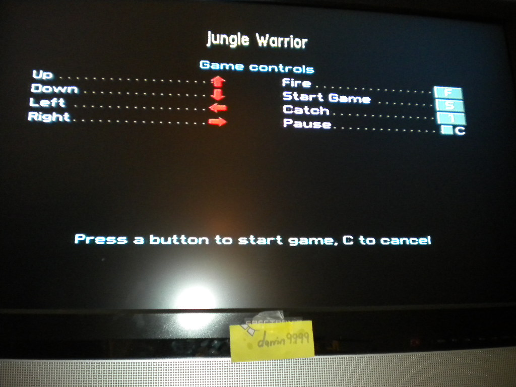 Jungle Warrior [100,000 Points Completion Bonus] 12,280 points