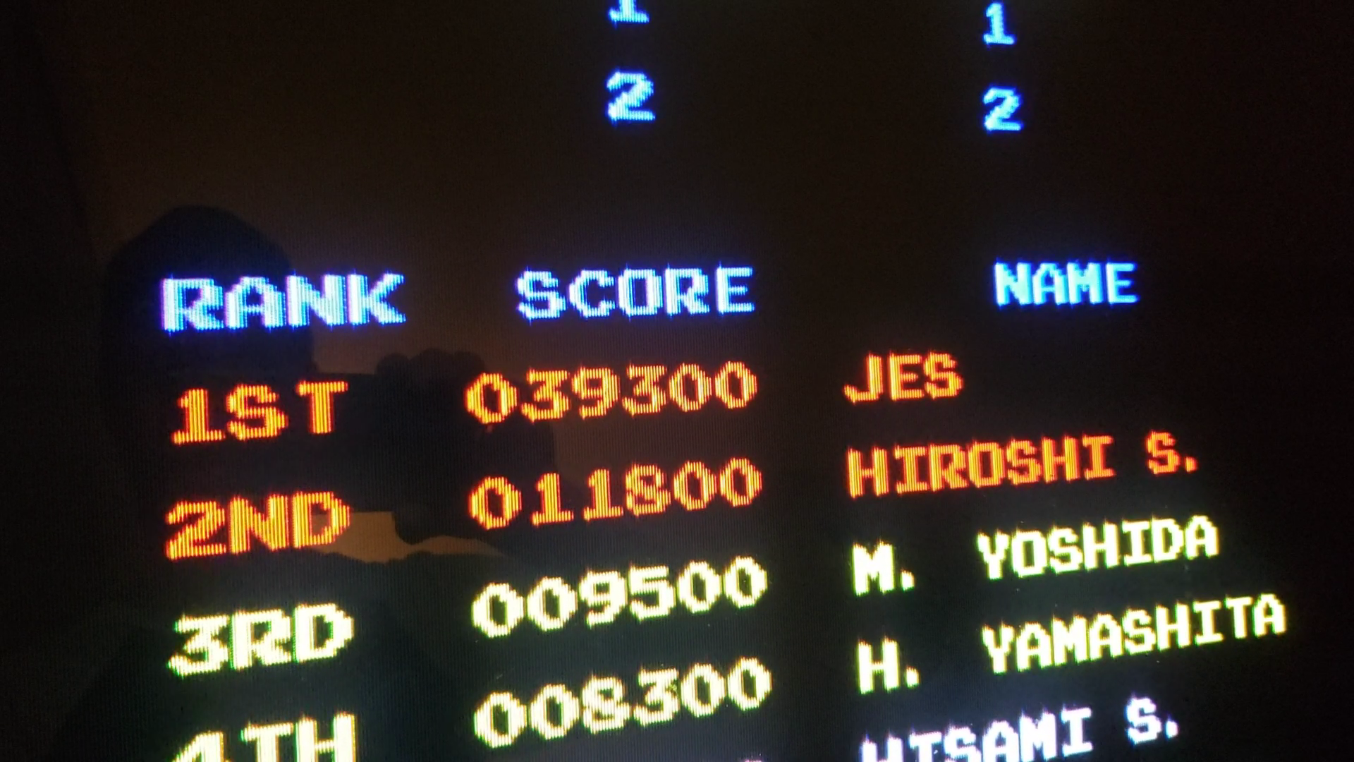 JES: Junior King [jrking] (Arcade Emulated / M.A.M.E.) 39,300 points on 2020-08-09 02:12:21