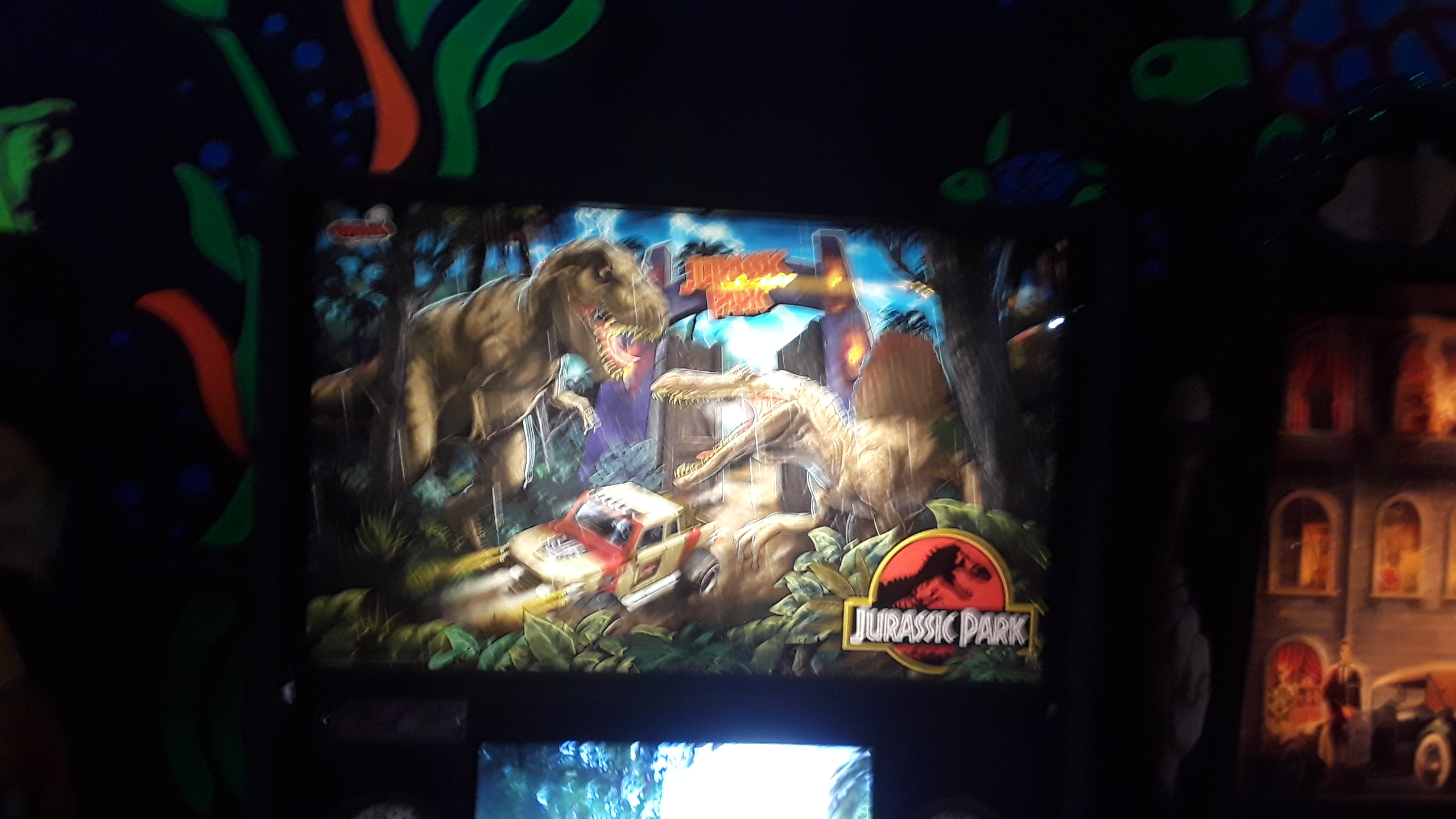 JML101582: Jurassic Park [2019 Stern] [LE] (Pinball: 3 Balls) 2,436,950 points on 2019-12-28 15:43:14
