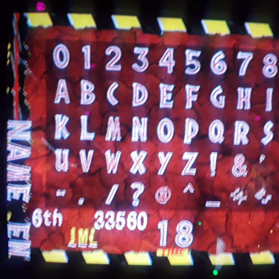 Jurassic Park III 33,560 points
