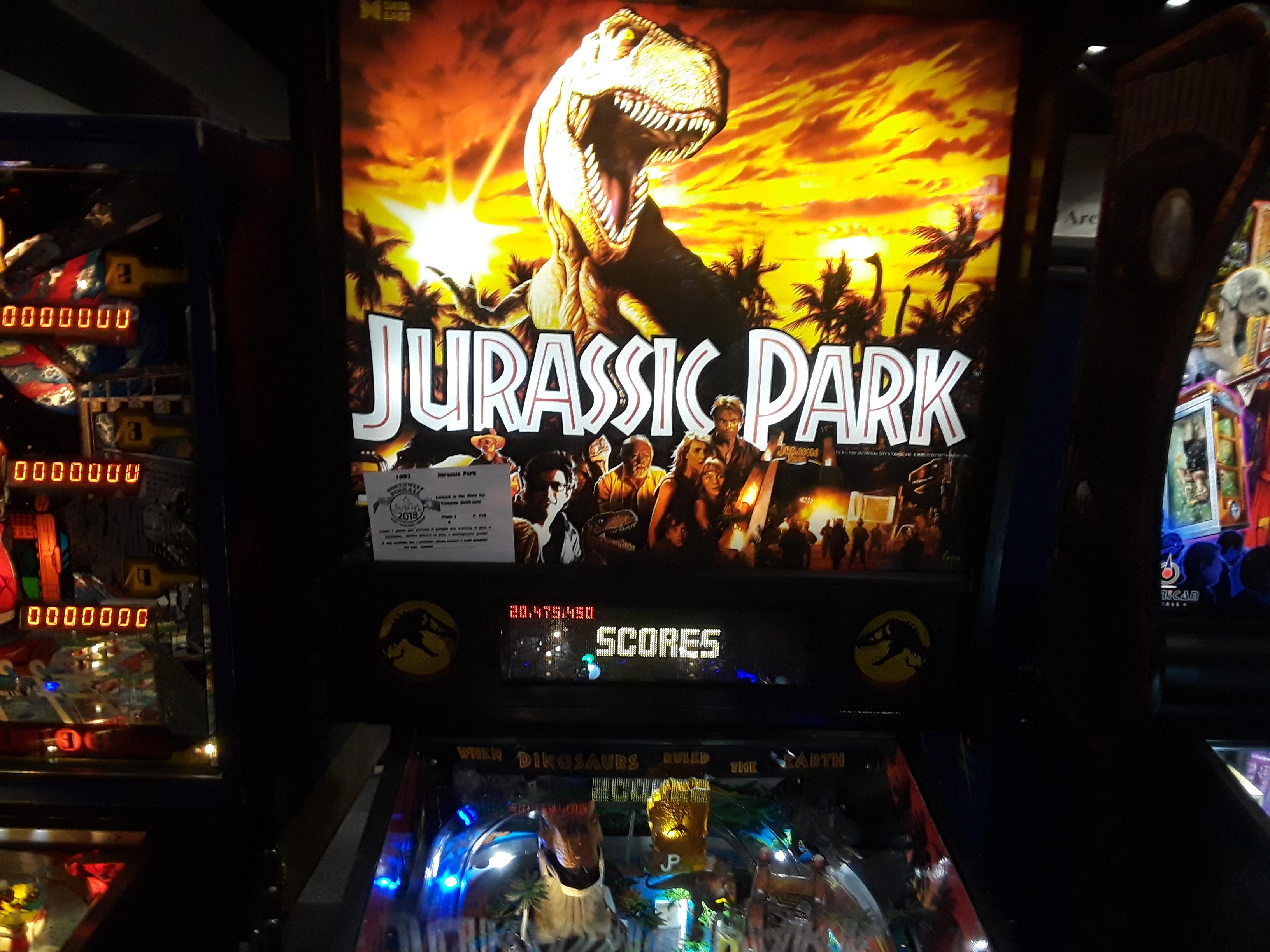 Jurassic Park 20,475,450 points
