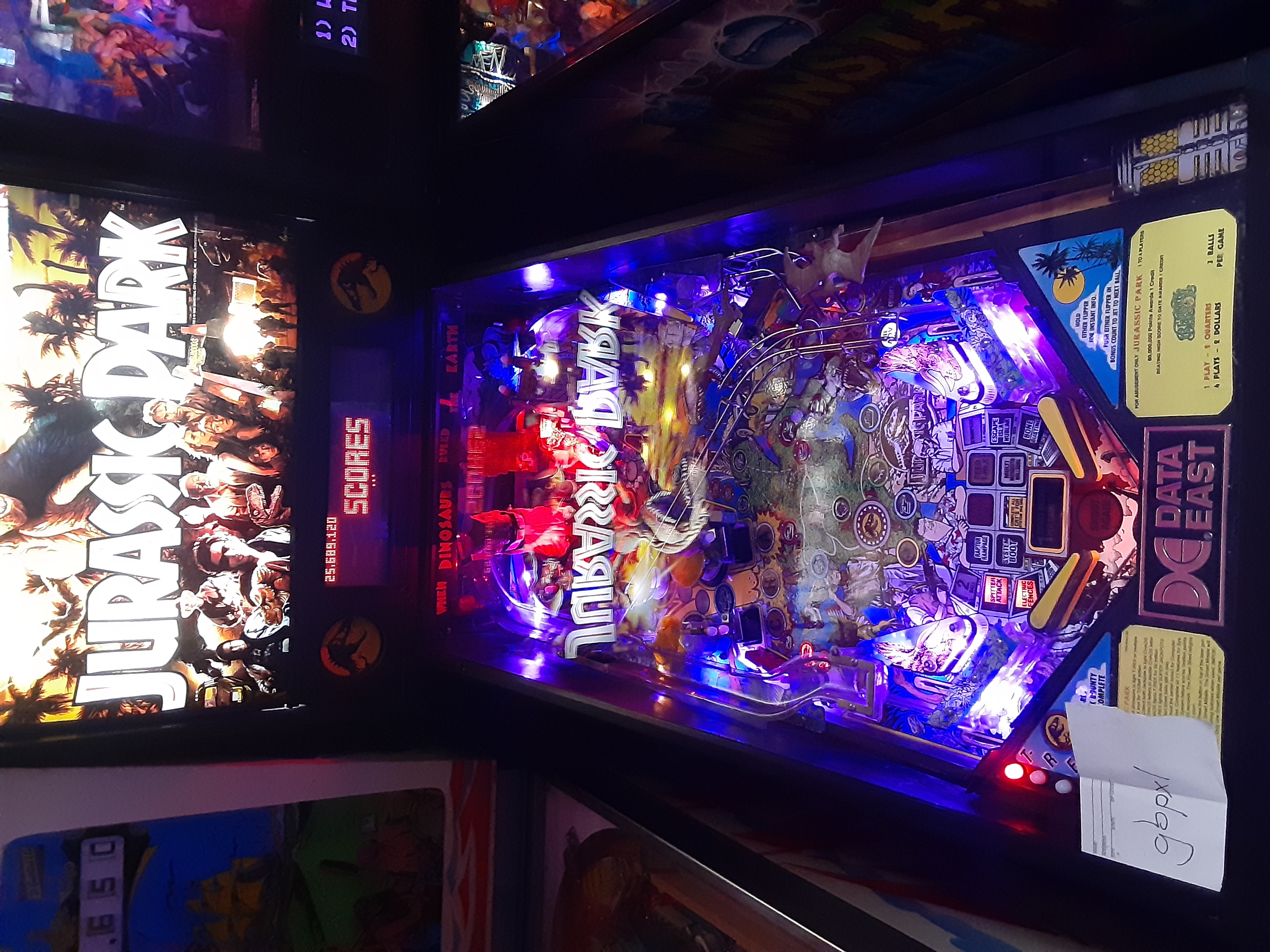 gbpxl: Jurassic Park (Pinball: 3 Balls) 25,689,120 points on 2020-01-04 20:15:50