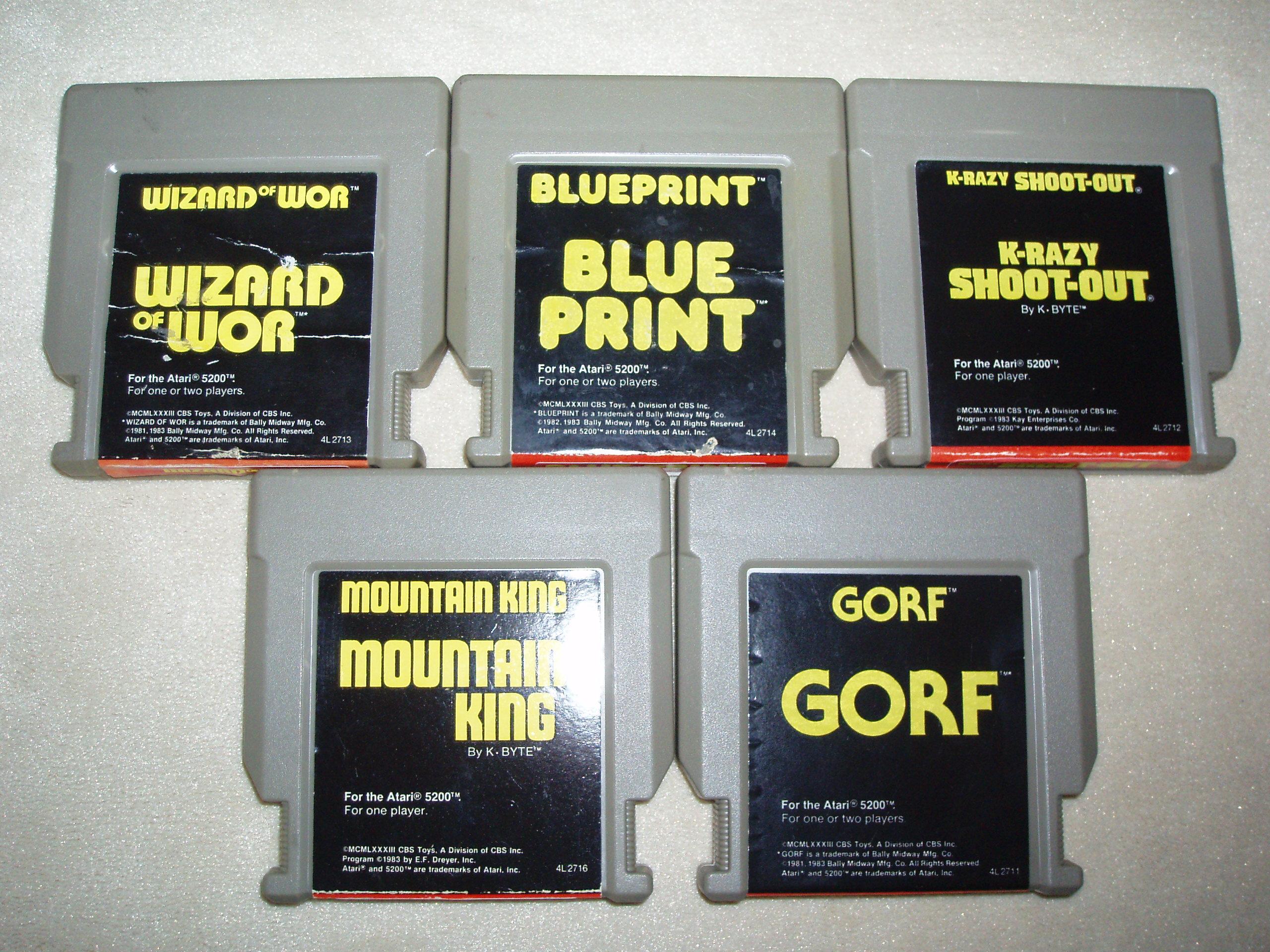 atari2600forever: K-razy Shootout (Atari 5200) 5,190 points on 2019-01-10 03:27:41
