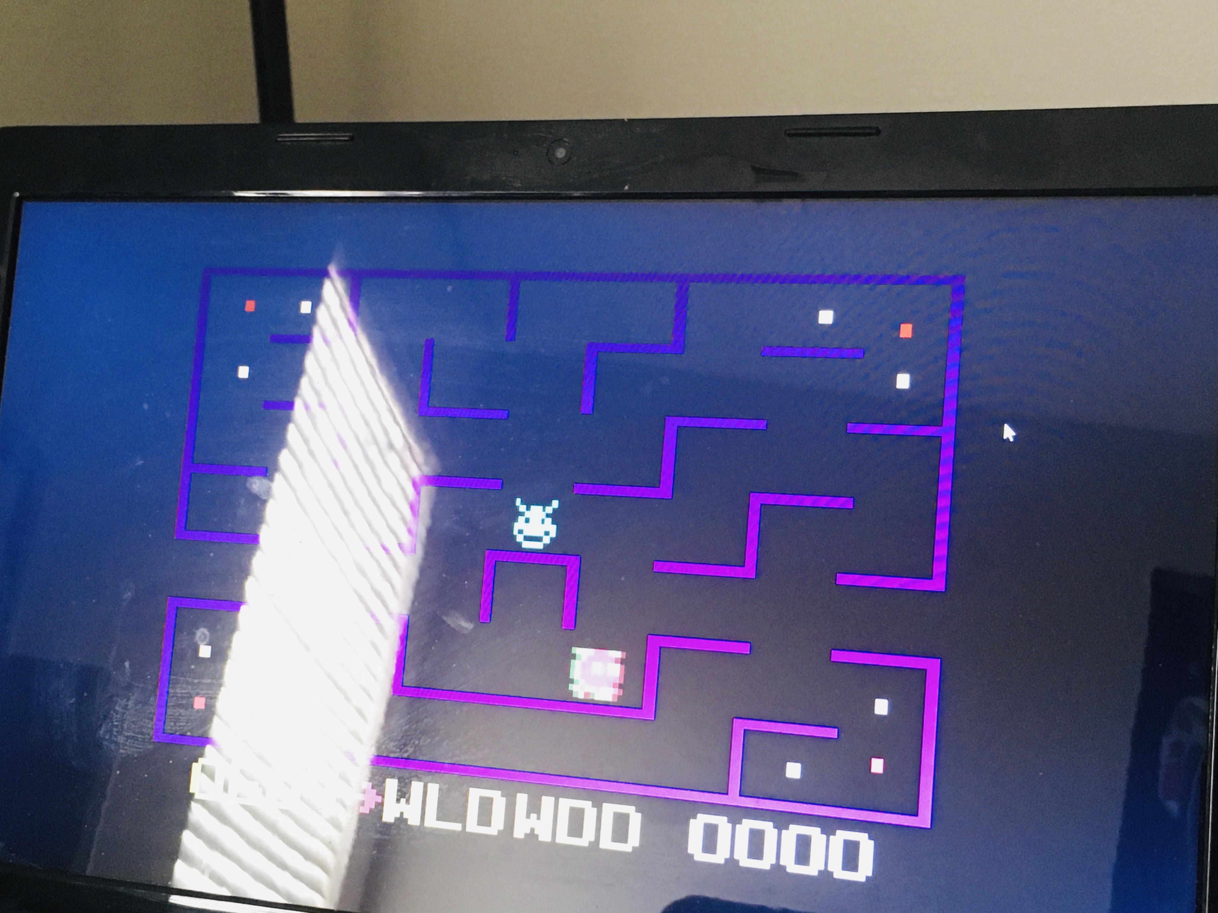 WDD: KC Munchkin [Any Standard Maze] (Odyssey 2 / Videopac Emulated) 604 points on 2020-08-02 14:30:25