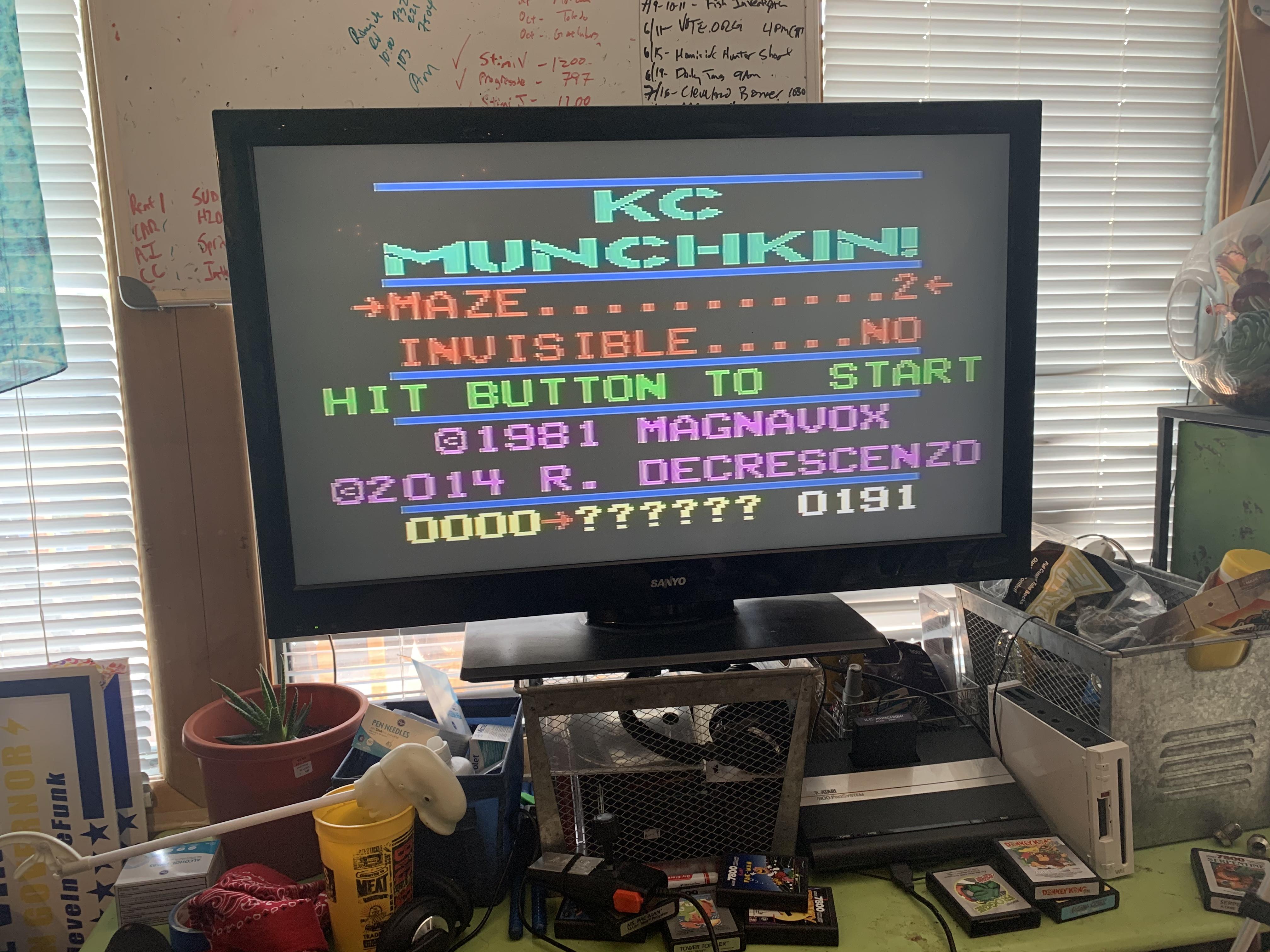 K.C. Munchkin: Maze 2 191 points