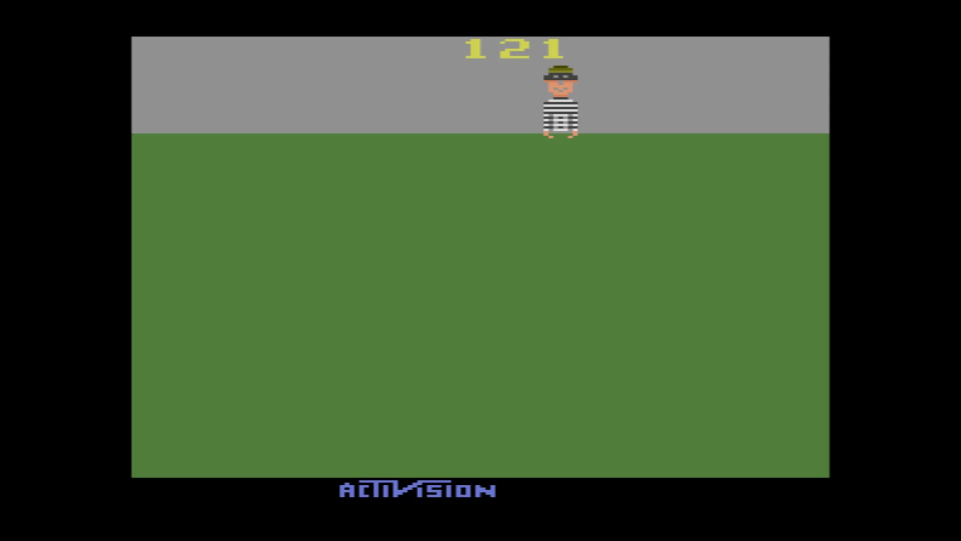 AkinNahtanoj: Kaboom! (Atari 2600 Emulated Novice/B Mode) 121 points on 2020-08-15 02:54:55