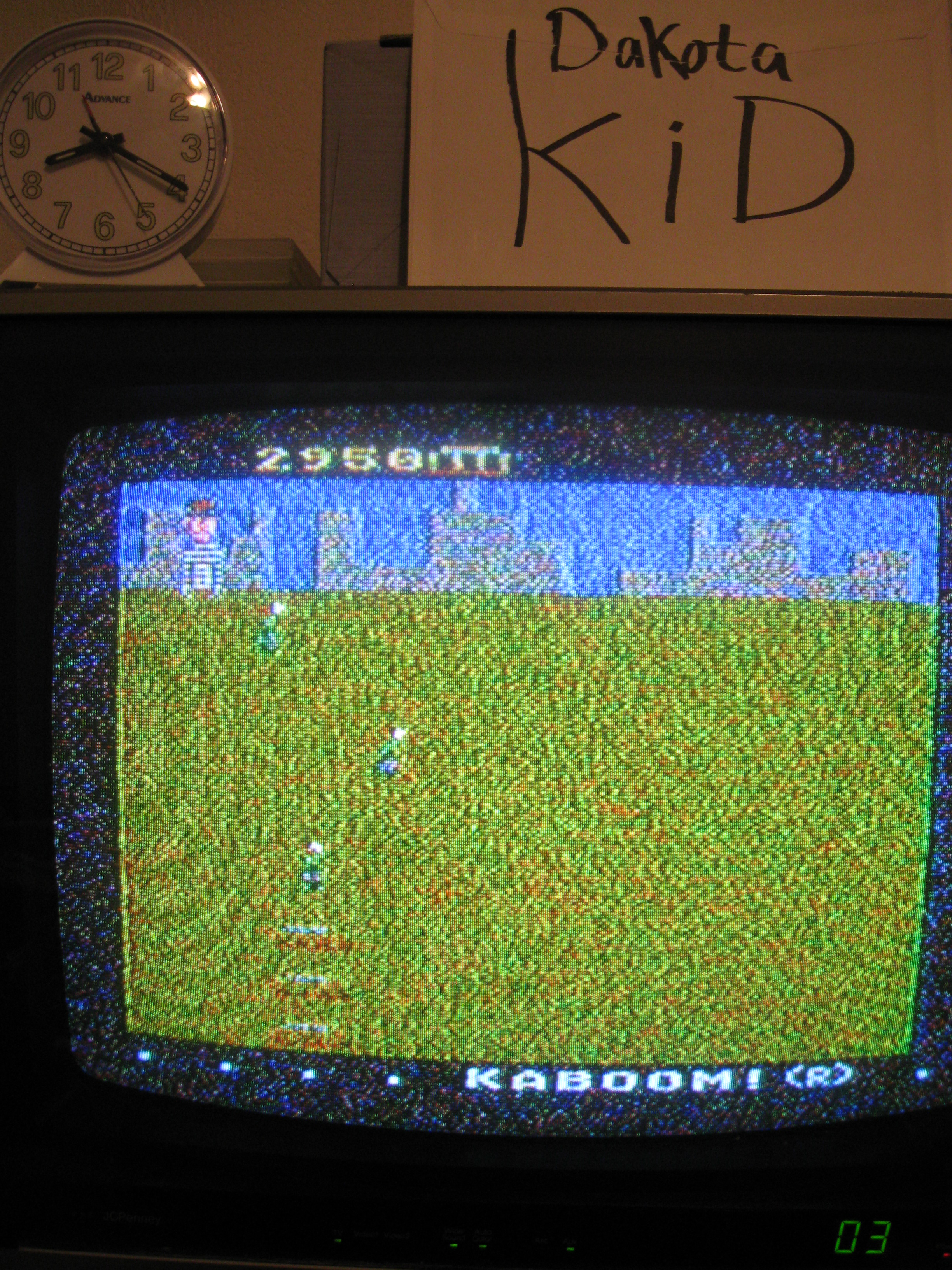 DakotaKid: Kaboom! (Atari 5200) 2,950 points on 2016-04-18 13:38:39
