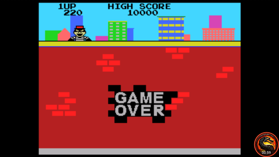 omargeddon: Kaboom [Large Buckets] (Colecovision Emulated) 220 points on 2020-08-23 21:27:13