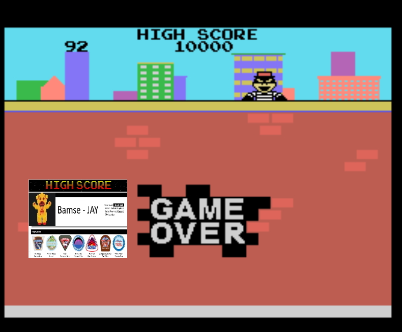Bamse: Kaboom [Small Buckets] (Colecovision Emulated) 92 points on 2019-11-17 16:53:47