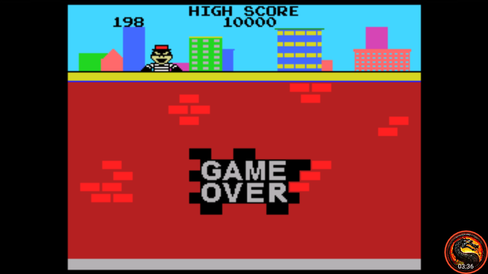omargeddon: Kaboom [Small Buckets] (Colecovision Emulated) 198 points on 2020-08-23 21:23:03