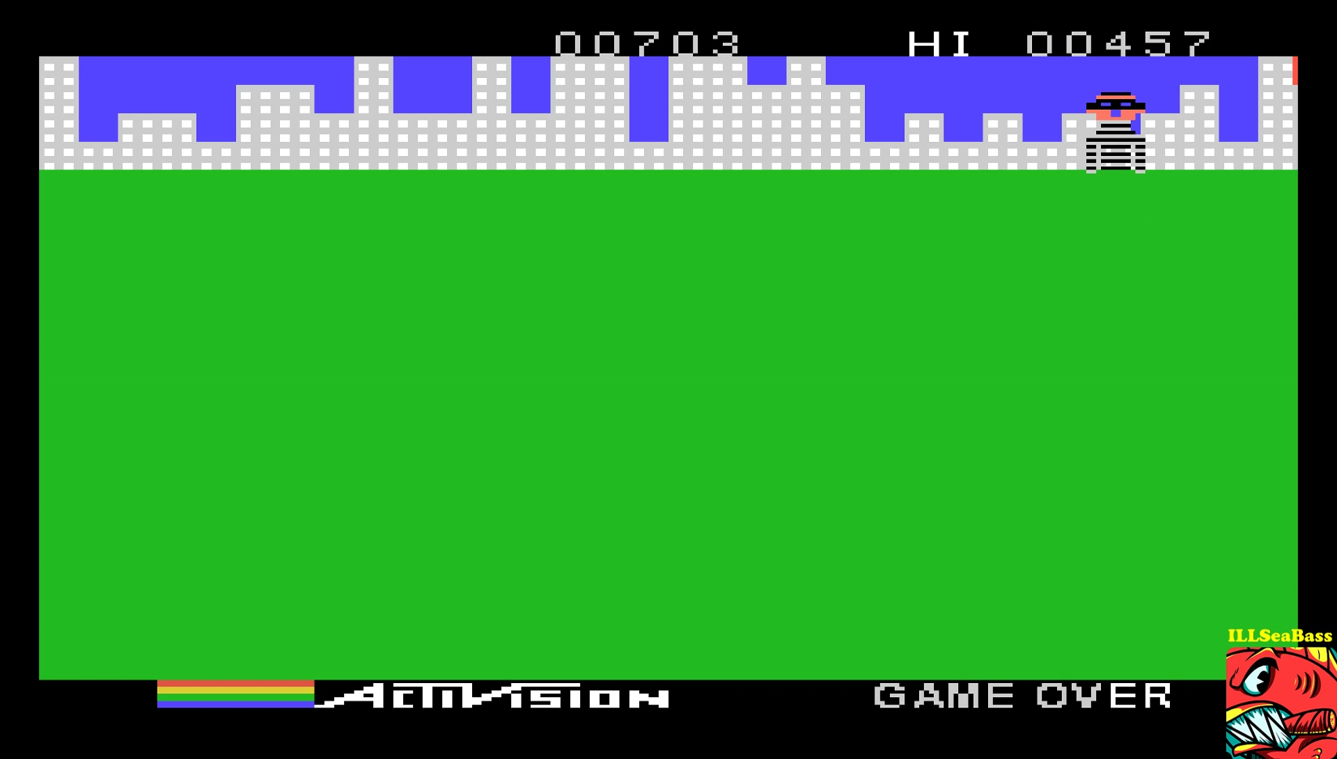 ILLSeaBass: Kaboom! (TI 99/4A Emulated) 703 points on 2017-05-28 22:20:30