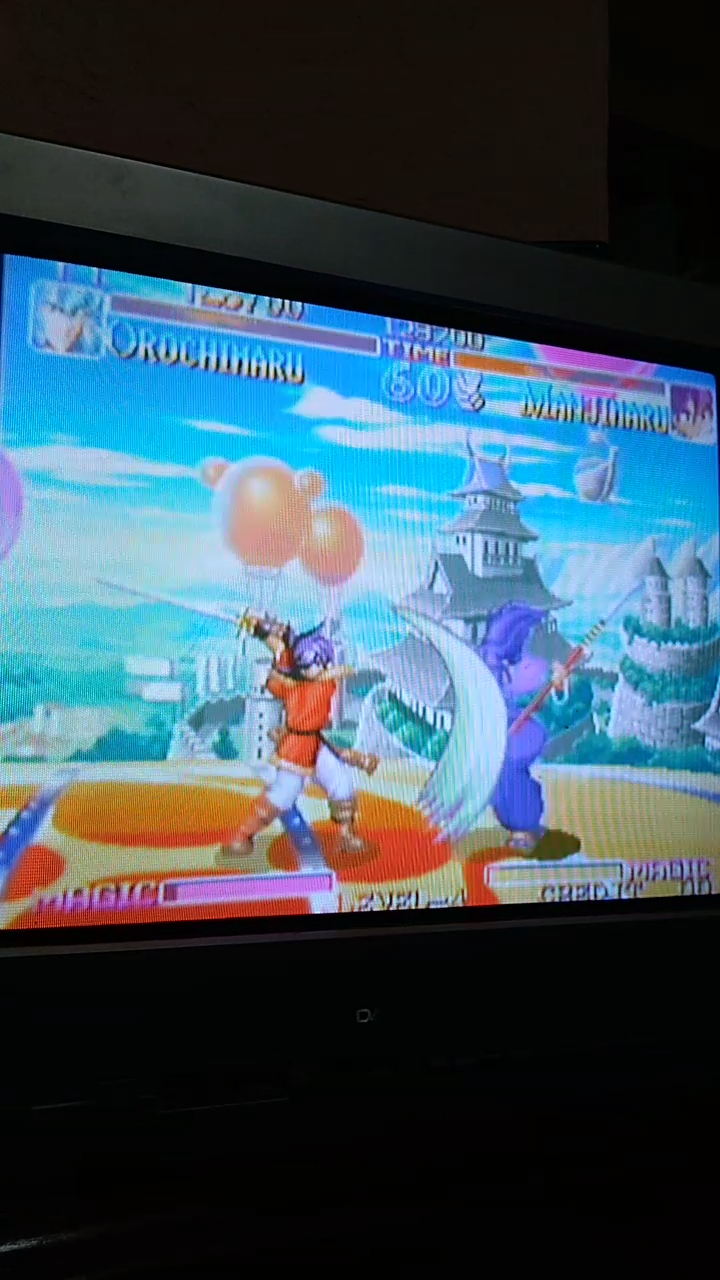 Sdrgio797: Kabuki Klash (Neo Geo Emulated) 123,700 points on 2020-07-31 13:53:12